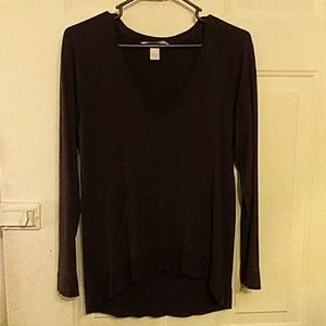 Victoria's Secret long-sleeve grey sweater